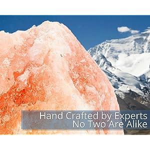 Do Salt Lamps Make You Sick : Amazon.com: HemingWeigh Natural Himalayan Rock Salt Lamp 6-7 lbs with Wood Base, Electric Wire ...