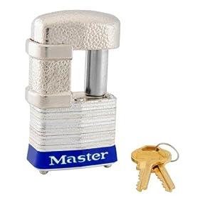 Master Lock 37KA Shrouded Padlock with Two Keys