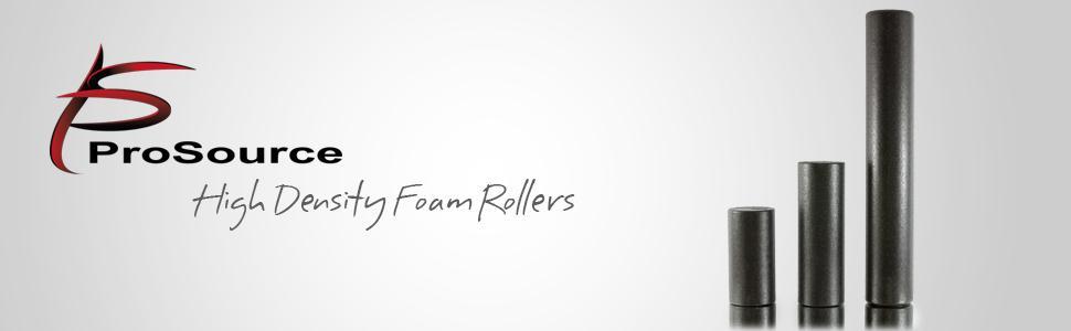ProSource High Density Foam Rollers, high density foam rollers, black high density foam roller,
