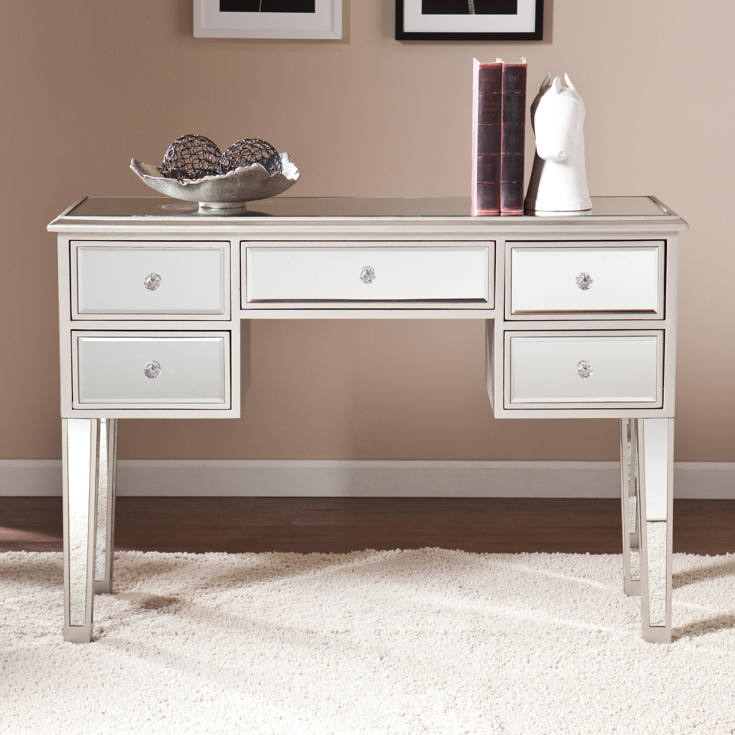 Amazon southern enterprises mirage mirrored media console view larger geotapseo Choice Image