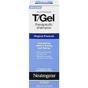 T/Gel Therapeutic Shampoo's