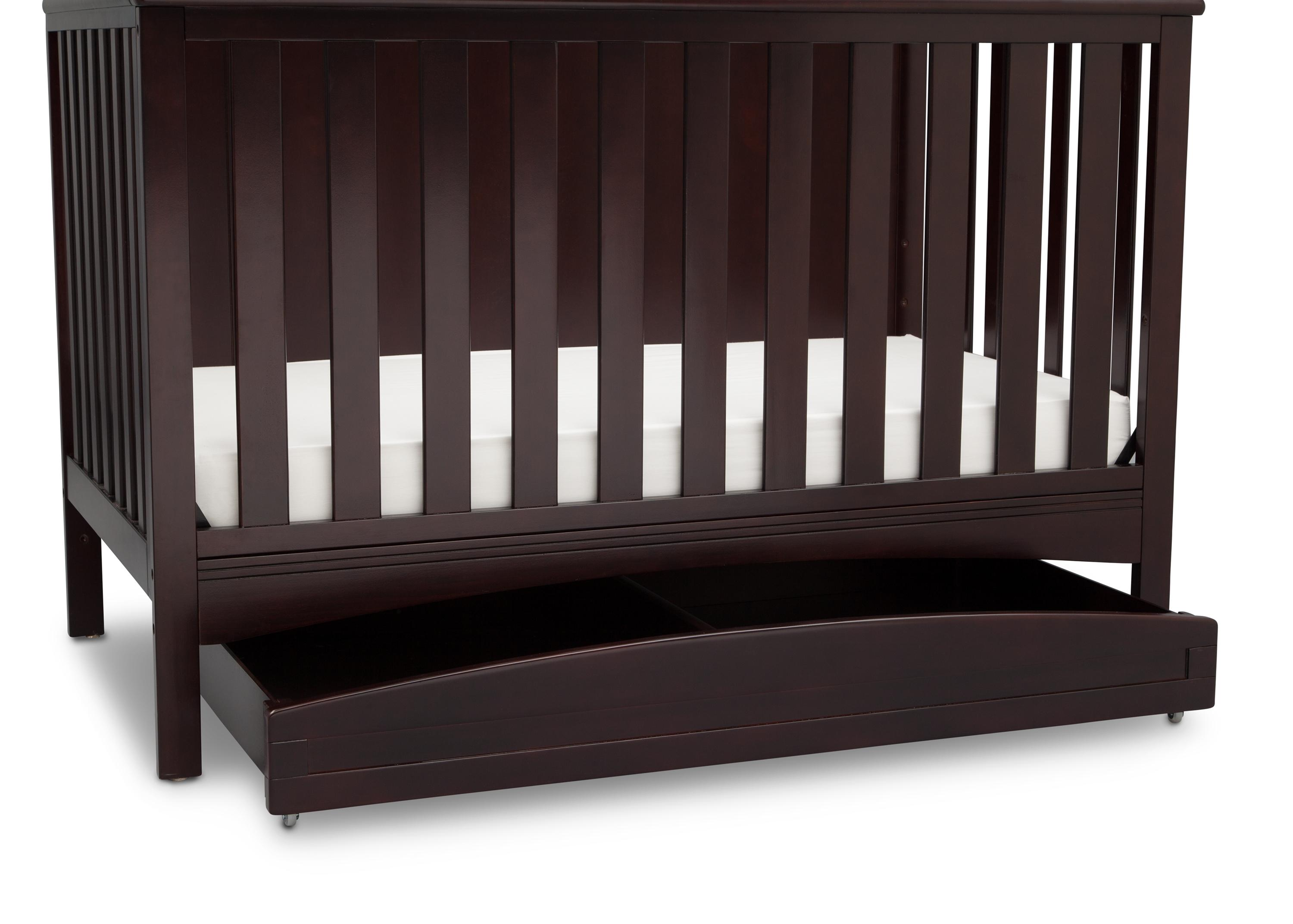 crib shipping babyletto toddler through with overstock cribs kit modo home bed product pine in convertible wood free conversion today garden see