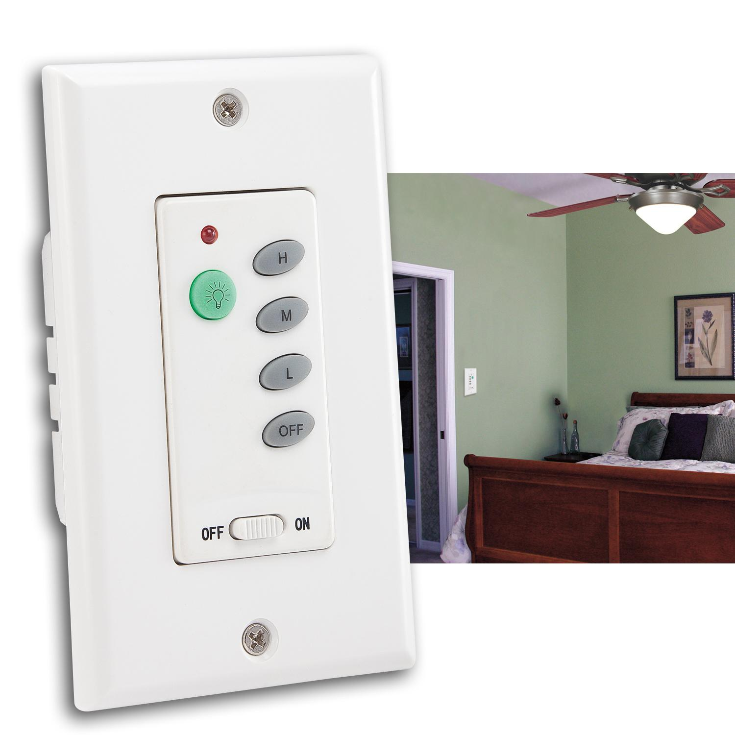 Westinghouse 7787500 wireless ceiling fan and light wall control 7787500 ceiling fan and light wall control mozeypictures