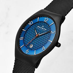 amazon com skagen men s 801xltxm grenen titanium watch watches grenen men s collection