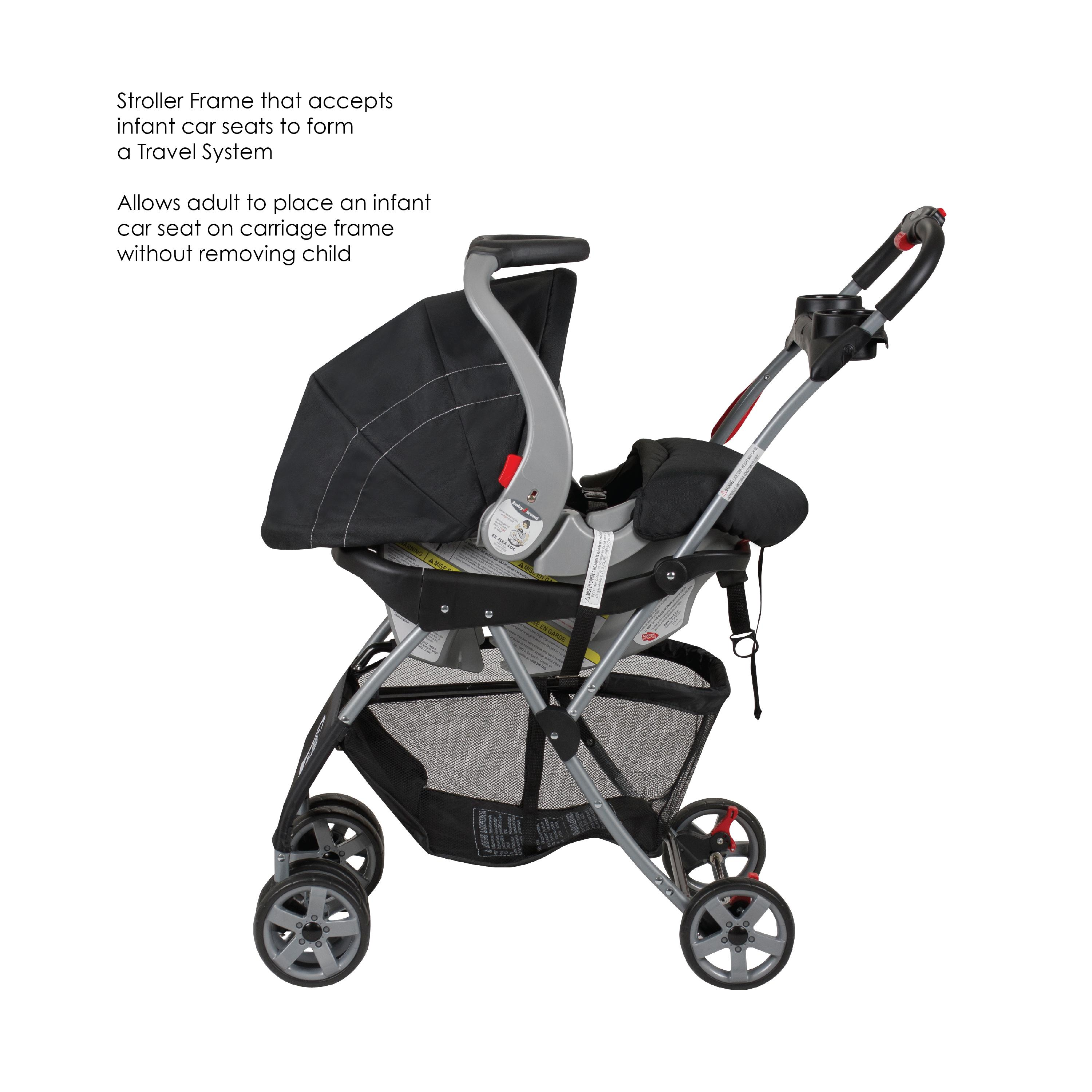 Baby Trend Double Snap N Go Stroller Frame Black Discontinued By Manufacturer