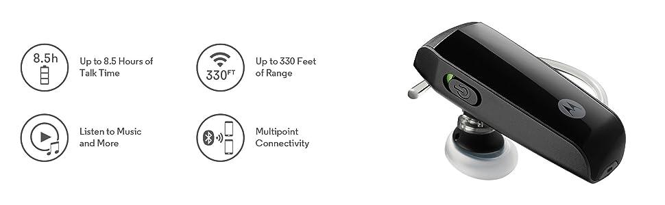 Motorola HK255 Super Light, Performance Bluetooth Headset