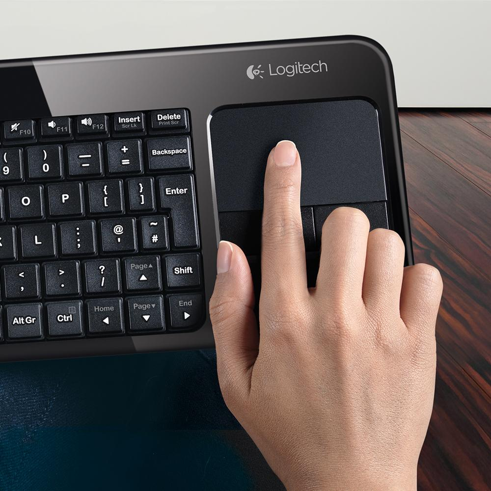 New logitech living room wireless keyboard k410 built in - Logitech living room keyboard k410 ...