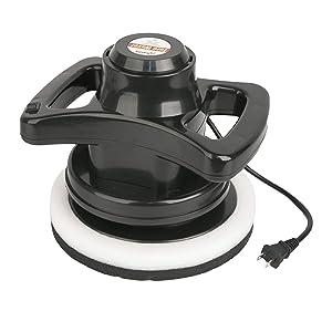 euro waxer polish polisher wax applicator buffer buff shine bonnet 12V 10 inch 2900 orbits random
