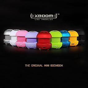 XBOOM Ceramic Mini Portable Capsule Speaker