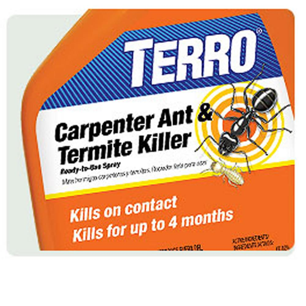 Uncategorized Spray To Kill Termites amazon com terro carpenter ant termite killer ready to use 1 spray