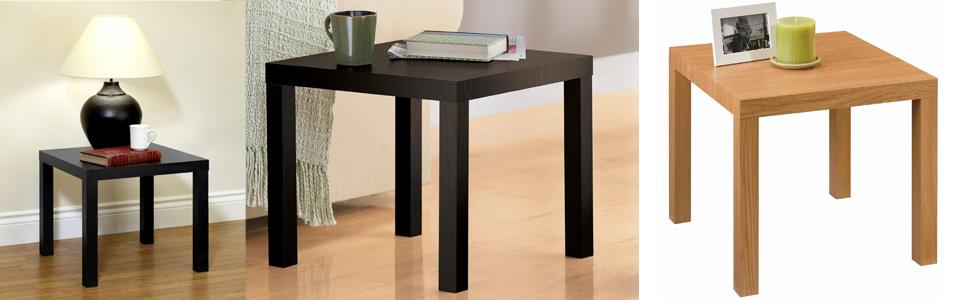 Swell Dorel Home Products Parsons Modern End Table Black Pdpeps Interior Chair Design Pdpepsorg