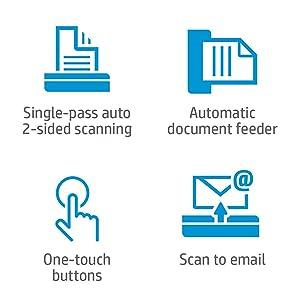 HP ScanJet Pro 2000 S1 ScannerSheet-Feed Scanner