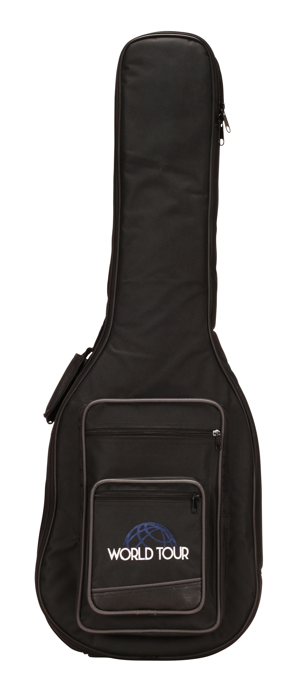 world tour deluxe 20mm electric guitar gig bag musical instruments. Black Bedroom Furniture Sets. Home Design Ideas