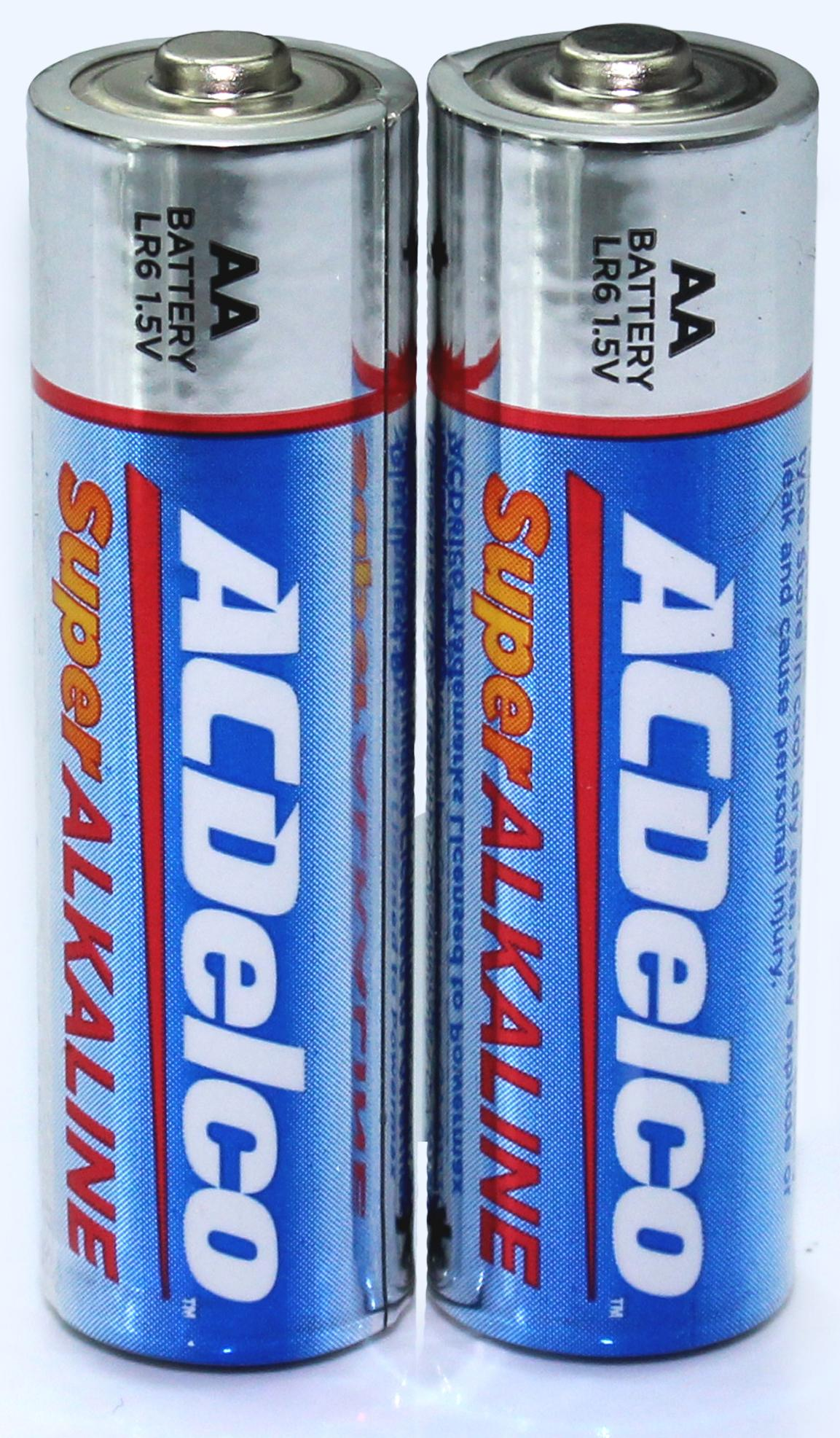 Acdelco Super Alkaline Aa Batteries 40 Count Ebay