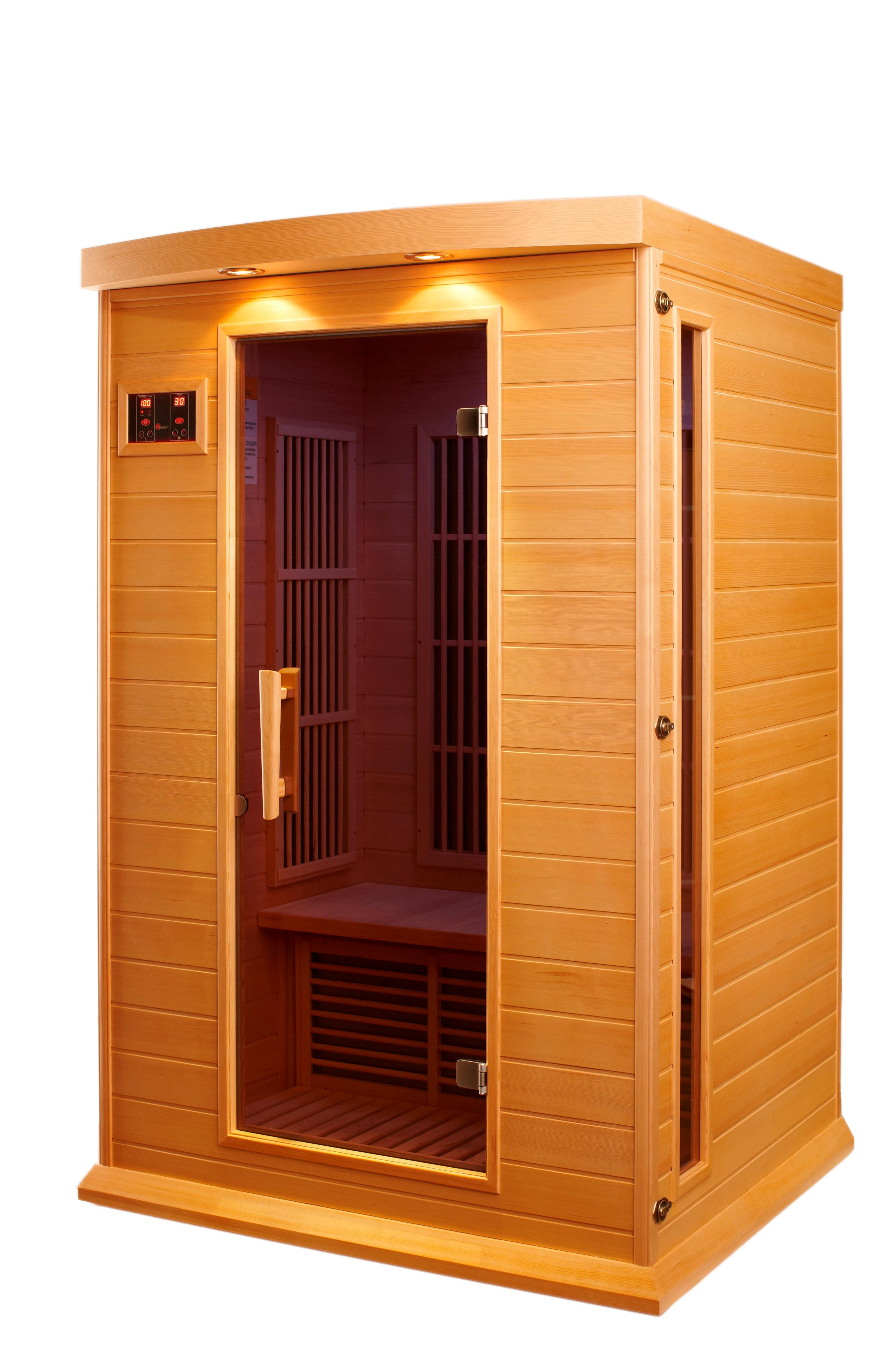 Infrared Sauna With Salt Wall In Nh Hotel Zandvoort The: Amazon.com : DYNAMIC SAUNAS AMZ-MX-K206-01 Maxxus Toulouse