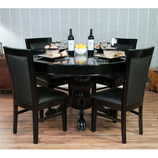 Amazon.com : BBO Poker Nighthawk Poker Table for 8 Players with ...