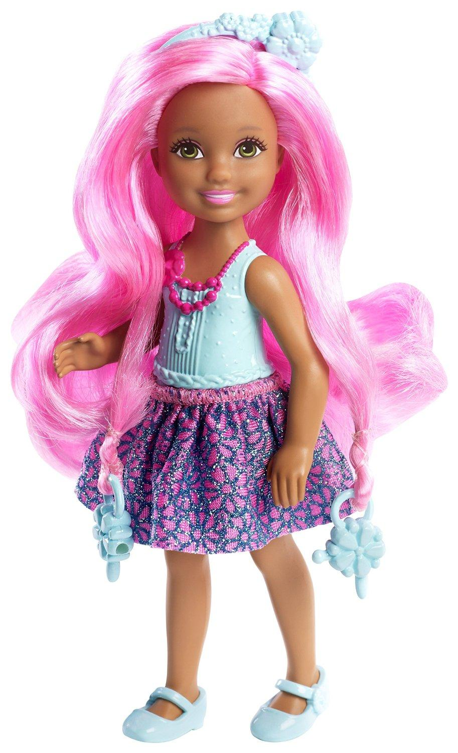 Toys For Hair : Amazon barbie endless hair kingdom chelsea doll blue