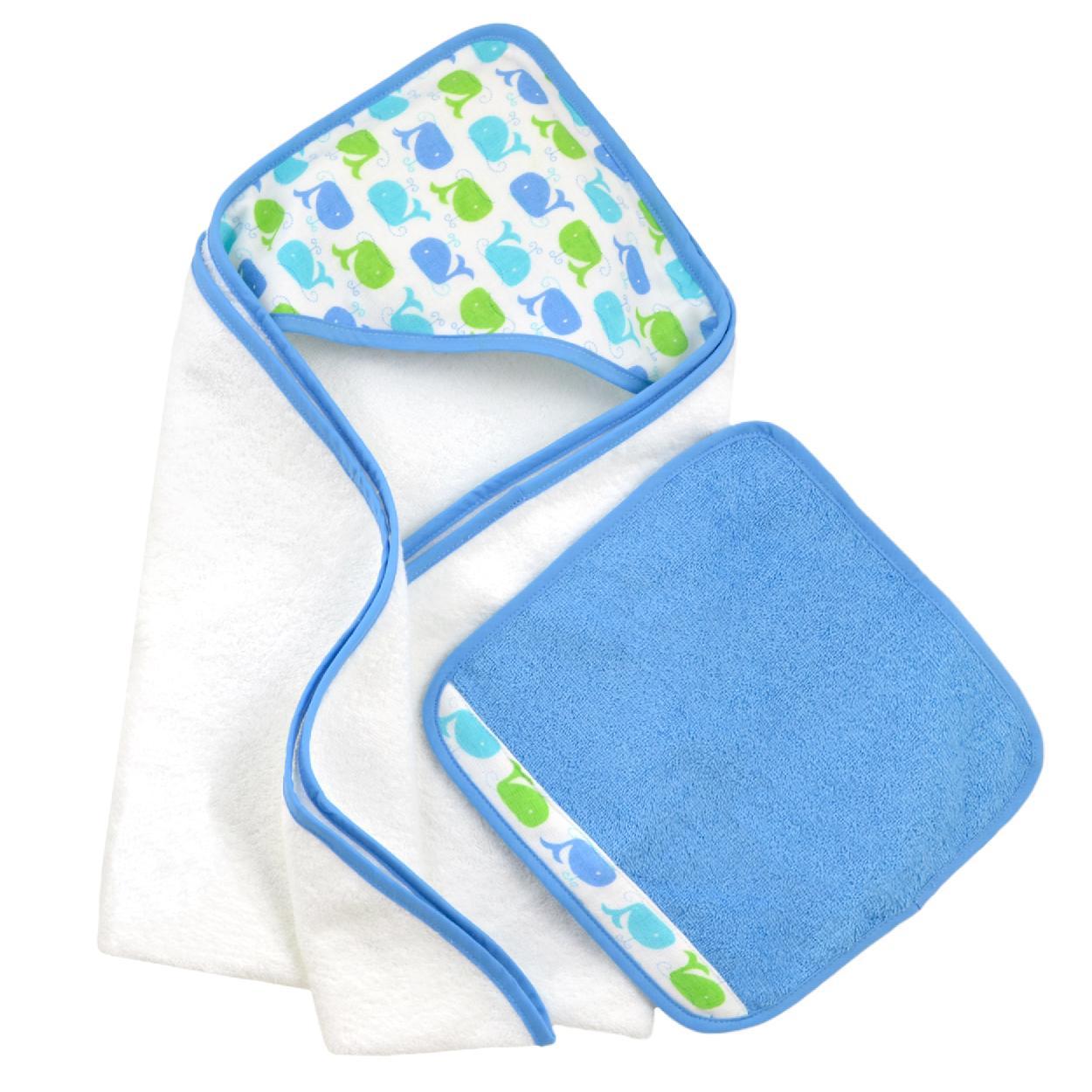 Amazon.com : Just Born Love to Bathe Puppet Towel, Orange : Baby