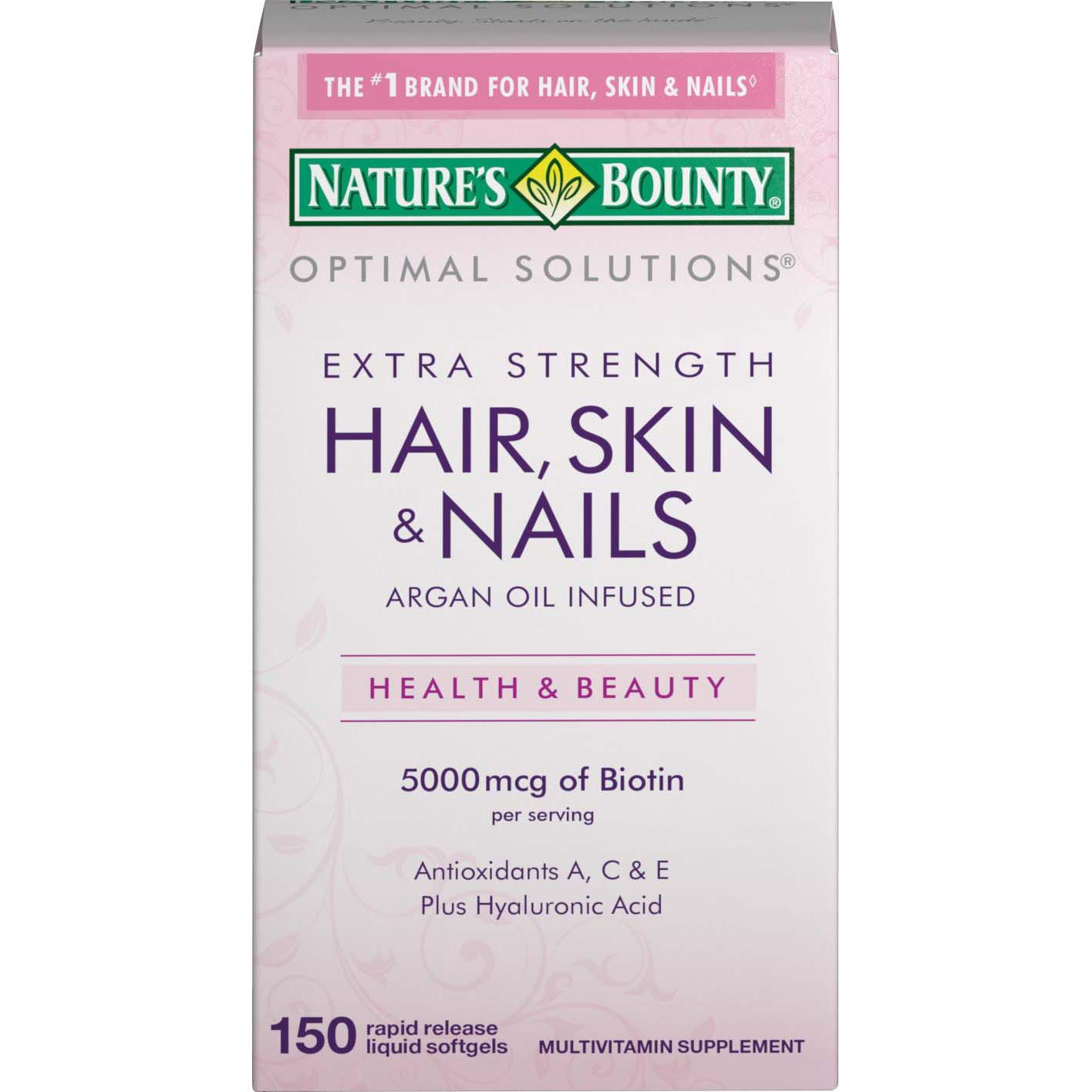 Nature S Bounty Extra Strength Hair Skin Nails