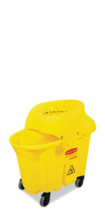 Institutional Mop Bucket with Sieve Wringer