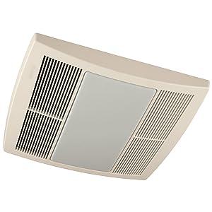 Broan Qtr110l Ultra Silent Bath Fan 110 Cfm White Grille