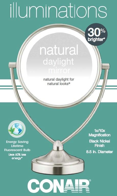 Amazon Com Conair Natural Daylight Double Sided Lighted