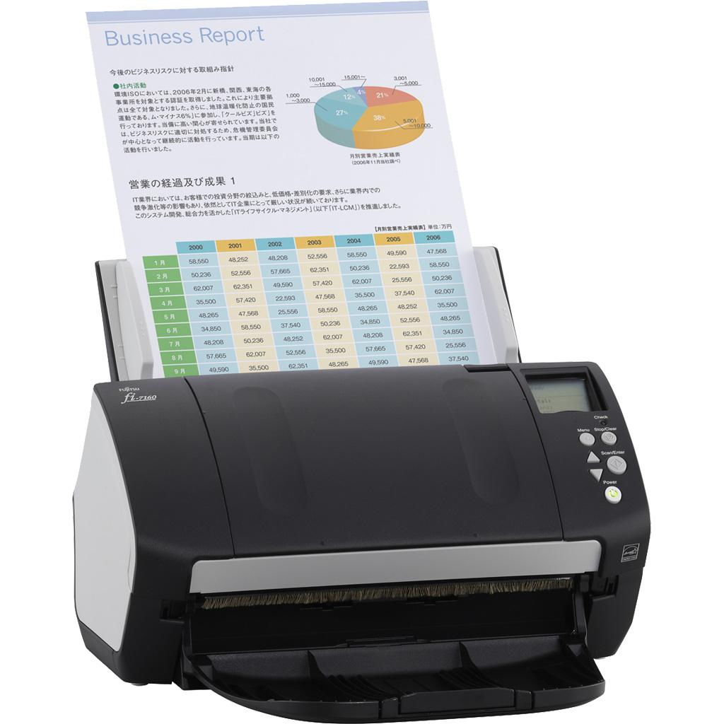 Amazon.com: Fujitsu fi-7160 Color Duplex Document Scanner ...