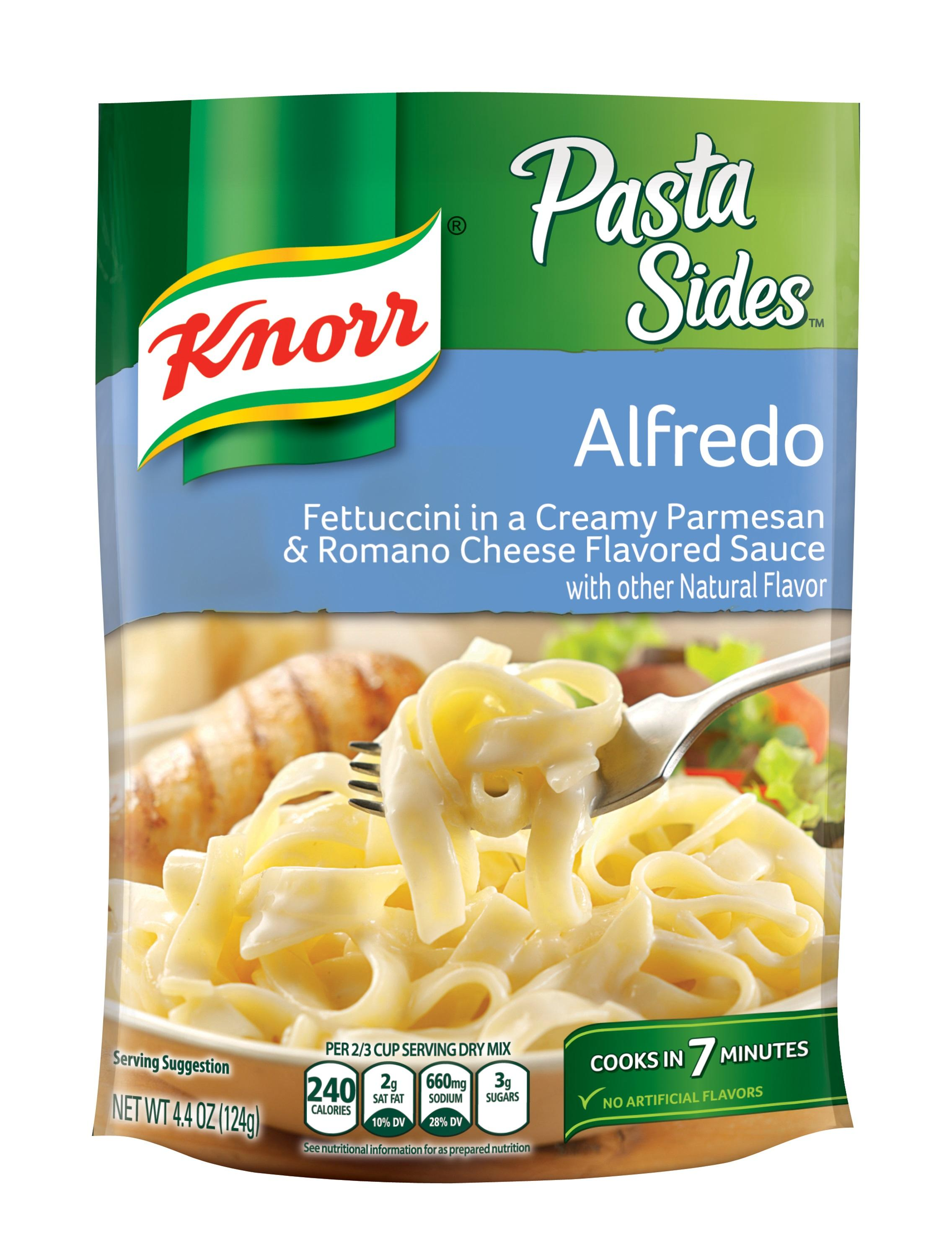 knorr pasta side dish alfredo 4 4 oz pack. Black Bedroom Furniture Sets. Home Design Ideas