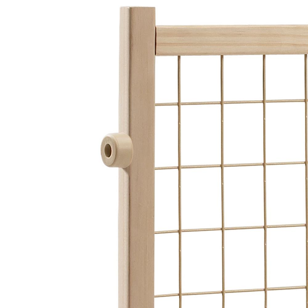 Evenflo Position And Lock Tall Pressure Mount Wood Gate Ebay