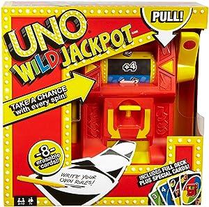Uno Attack Game, Uno Wild Jackpot, Uno Royal Revenge, UNO Tiki Twist, UNO TV