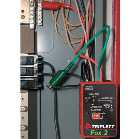 Triplett Fox & Hound 3399 Premium Wire and Cable Tracing Kit with ...