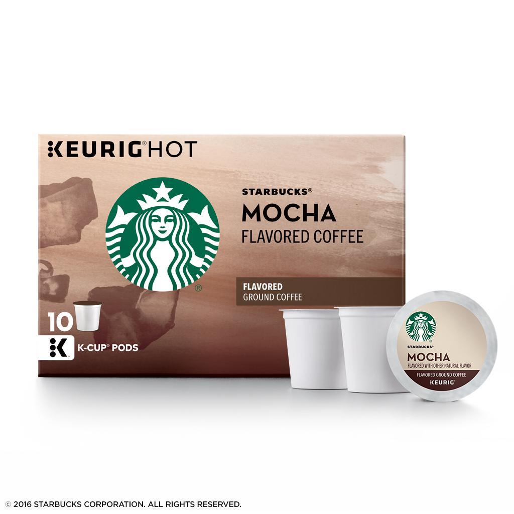Starbucks Mocha Flavored Medium Roast Single Cup Coffee ...
