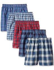 Pack of 7 Fruit of the Loom Boys Big Woven Boxer