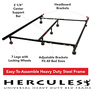 Amazoncom Classic Brands Hercules Universal HeavyDuty Metal Bed