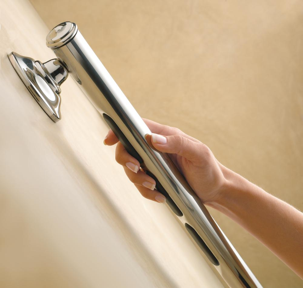 Amazon.com: Moen LR8724D1GBN 24-Inch Designer Bathroom Grab Bar ...