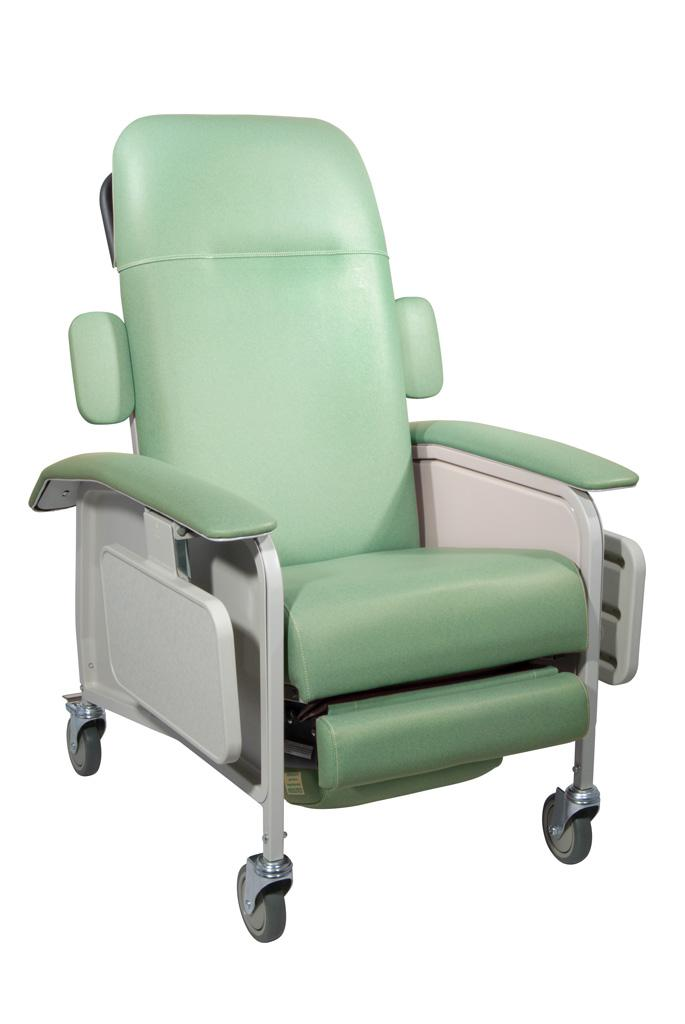 Amazon.com: Drive Medical Clinical Care Geri Chair Recliner, Jade ...