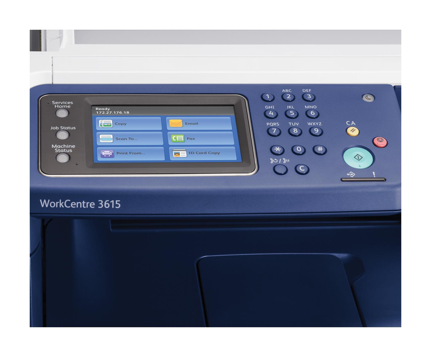 Amazon Com Xerox Workcentre 3615 Dn Monochrome Laser