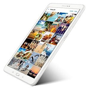 El Galaxy Tab Una cuenta con una ranura para tarjetas microSD