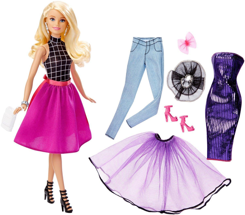 Amazon com barbie fashion mix n match doll blonde toys amp games