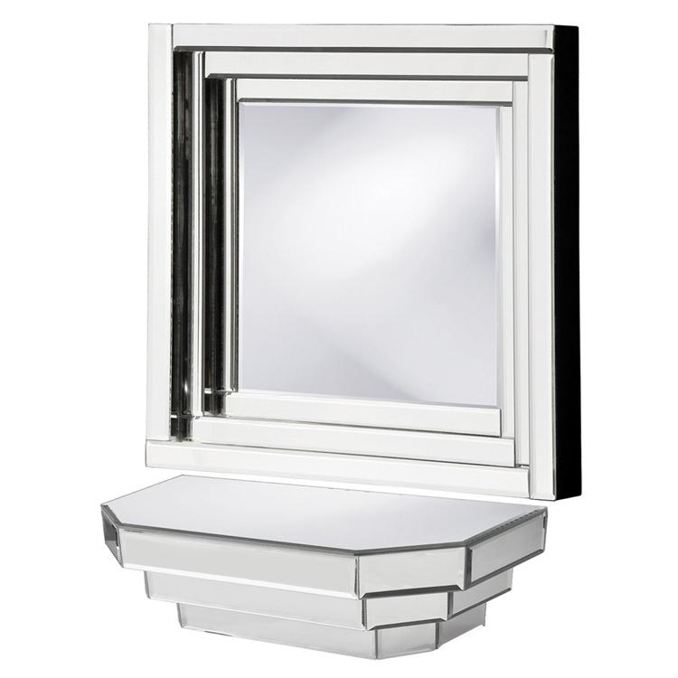 Amazon Com Howard Elliott 11062 Mirrored Wall Shelf