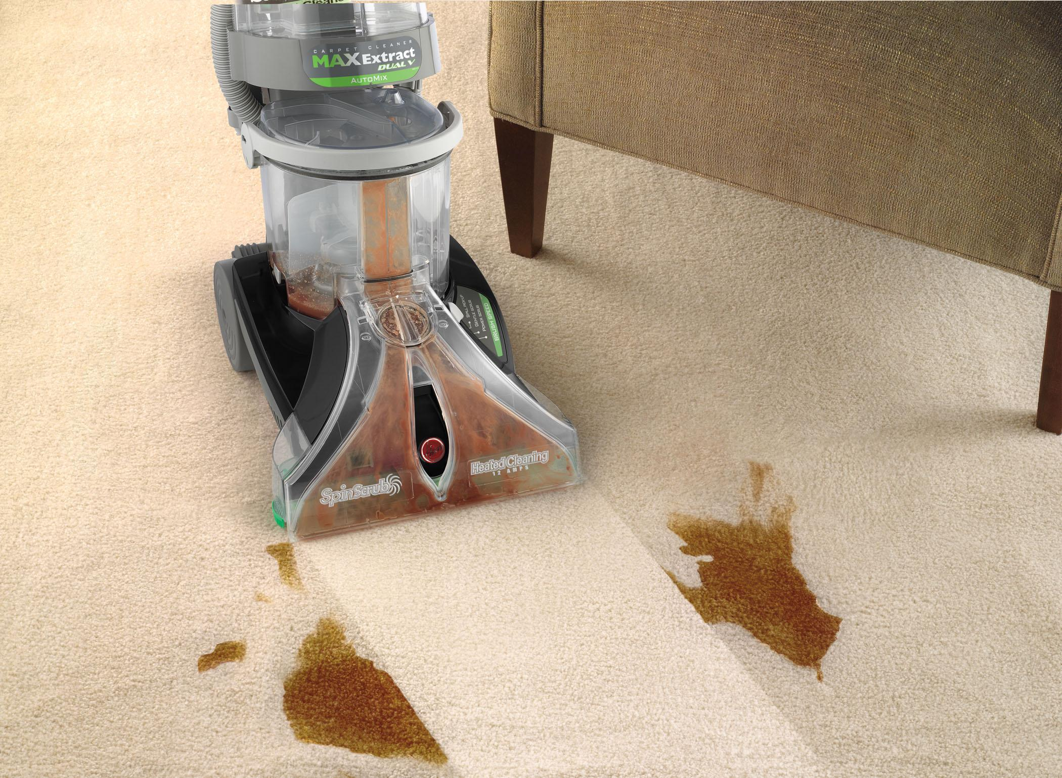Hoover carpet cleaner max extract dual v for Which carpet is best