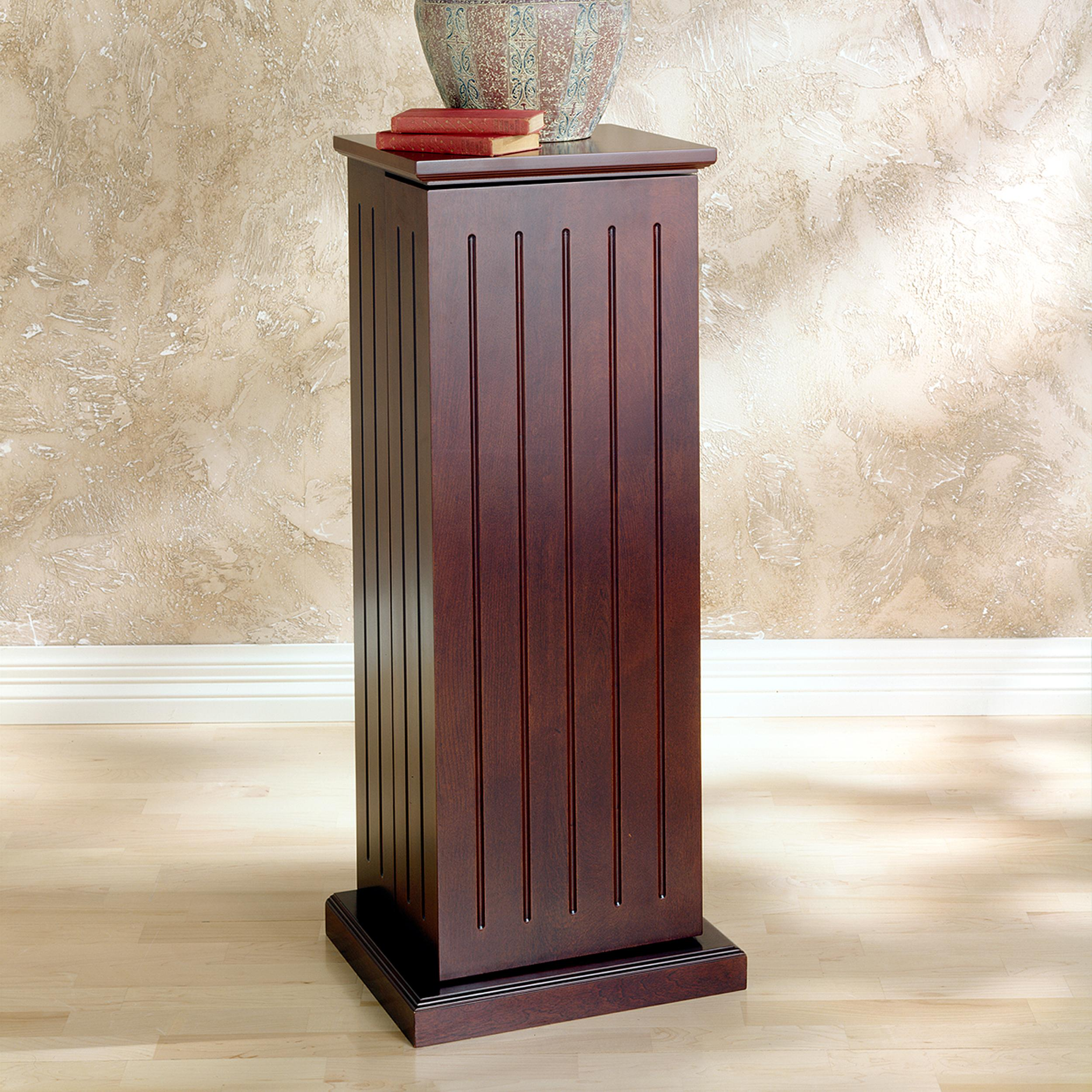Cherry Wood Dvd Storage Cabinet Amazoncom Sei Cherry Media Storage Pedestal With 10 Adjustable