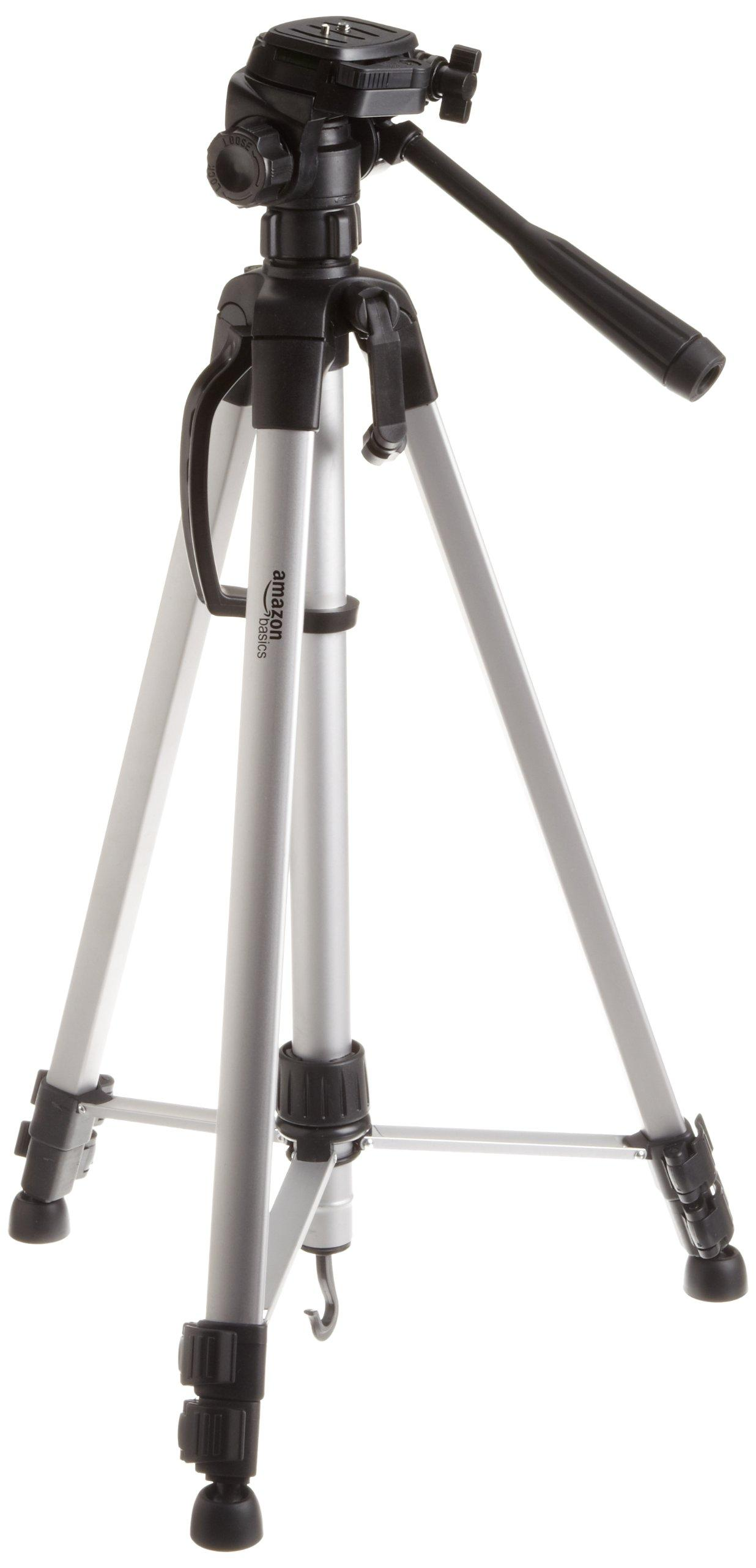 amazonbasics 60 inch lightweight tripod with. Black Bedroom Furniture Sets. Home Design Ideas