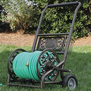 Delicieux Liberty Garden Products 301 2 Wheel Garden Hose Reel Cart