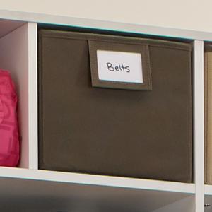 shelf organizer, closet organizer, floor organizer, fabric bins, shelf storage, closetmaid