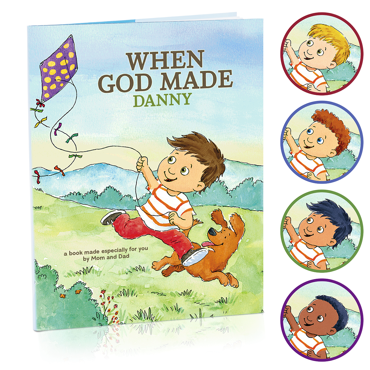 Amazon.com: Hallmark Personalized Books: When God Made You (Boy ...