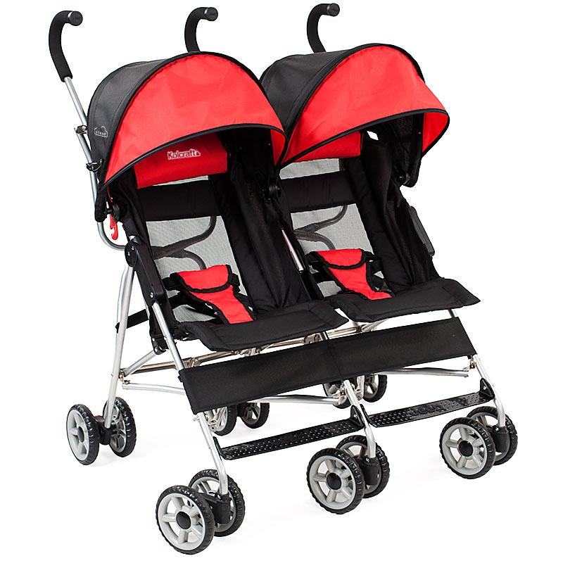 Amazon.com : Kolcraft Cloud Side-by-Side Double Umbrella Stroller ...
