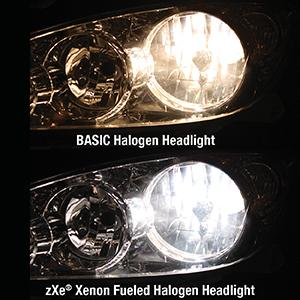 SYLVANIA H11 SilverStar zXe High Performance Halogen ...