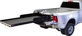 2200 lb Capacity CargoGlide CG2200XL-7548-LP Extension Slide Out Truck Bed Tray