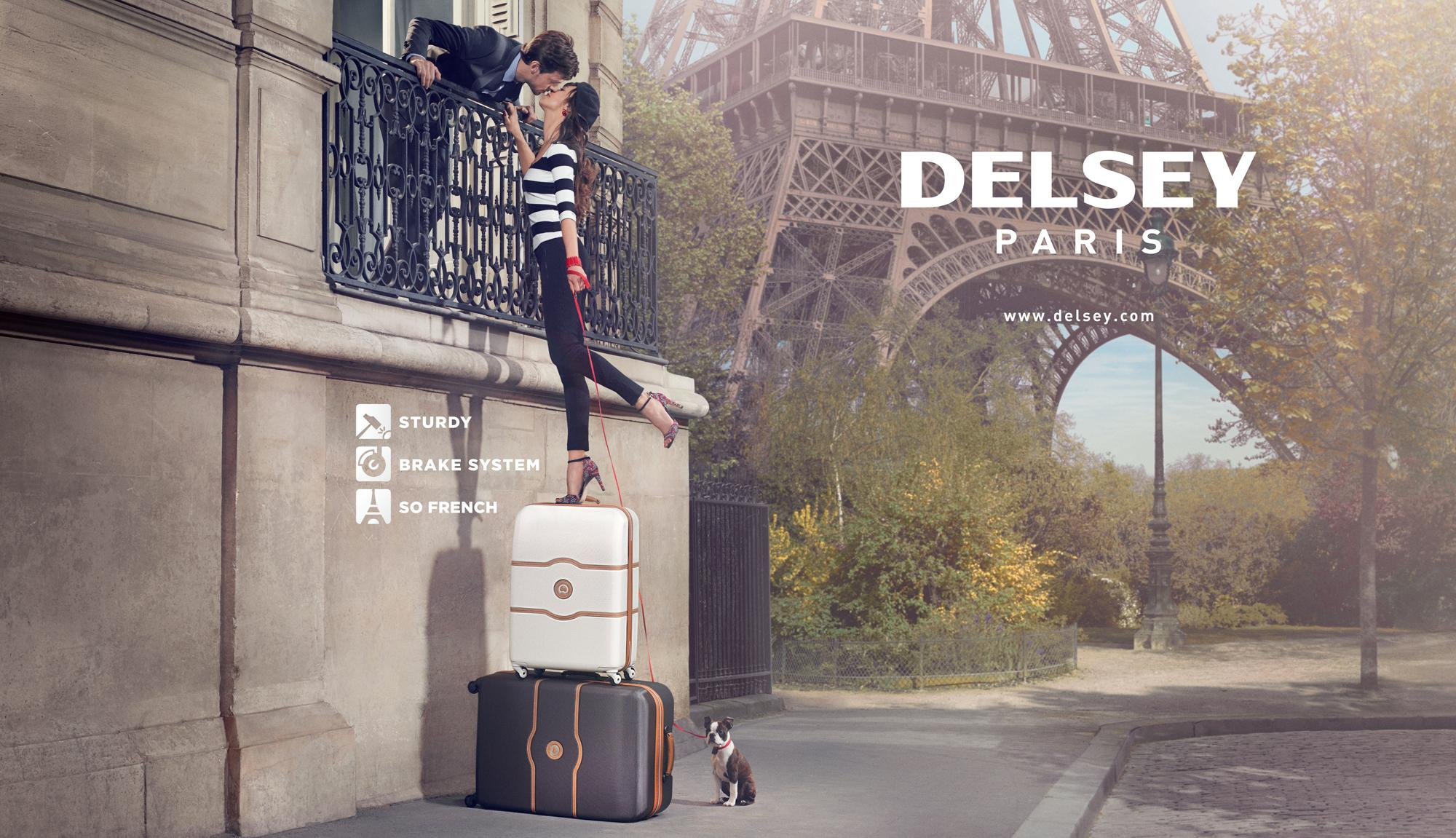 Amazon Com Delsey Luggage Montmartre 4 Wheel Spinner